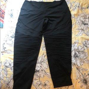 Aerie leggings crop length